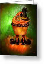 Witch Cupcake 6 Greeting Card