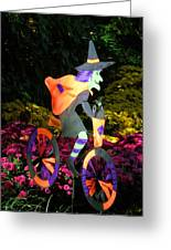 Witch Hunt Greeting Card