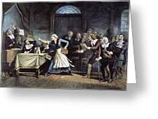 Witch Trial Greeting Card