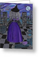 Witch World Greeting Card