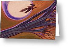 Witches' Branch Purple Greeting Card