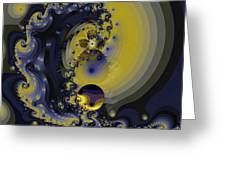 Within A Wave Greeting Card
