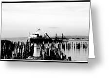 With'in The Harbor Greeting Card