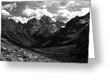 Within The North Fork Of Cascade Canyon Greeting Card