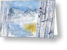 Without Borders Greeting Card