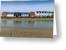 Wivenhoe Waterfront Greeting Card by Gary Eason