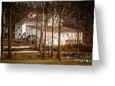 Wolcott Mill Greeting Card