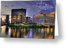 Wolf Point Panorama Greeting Card
