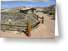 Wolfes Ranch - Arches Nationalpark Greeting Card