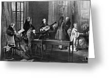 Wolfgang Amadeus Mozart (1756-1791) Greeting Card