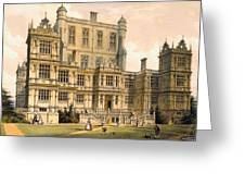 Wollaton Hall, Nottinghamshire, 1600 Greeting Card