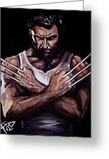 Wolverine Greeting Card