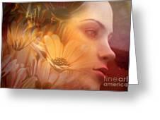 Woman 2011 Greeting Card