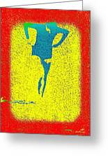 Woman Emerging -- Version I Greeting Card by Brian D Meredith