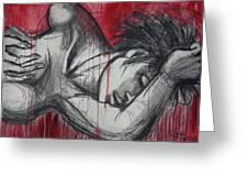Woman In Love 2 - Female Nude Greeting Card