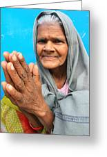 Woman Of India Greeting Card