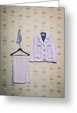 Woman's Clothes Greeting Card