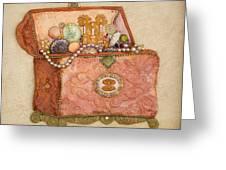 Womans Treasures Greeting Card