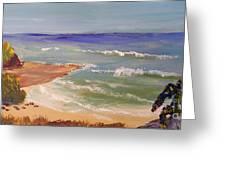 Wombarra Beach Greeting Card