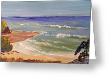 Wombarra Beach Greeting Card