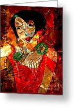 Women  0361 - Marucii Greeting Card