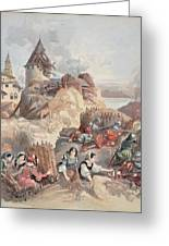 Women At The Siege Of Marseille Greeting Card