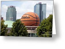 Women's Basketball Hall Of Fame Knoxville Tennessee Greeting Card