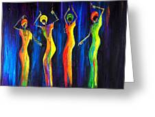 Womens Day Celebration In South Africa Greeting Card