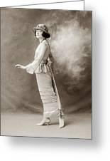 Women's Fashion, C1910 Greeting Card