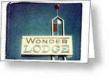 Wonder Lodge Greeting Card