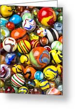 Wonderful Marbles Greeting Card