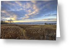 Wonderful Sunset Greeting Card