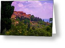 Wonderful Tuscany Greeting Card