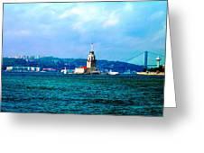 Wonders Of Istanbul Greeting Card