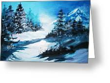 Wonders Of Winter Greeting Card
