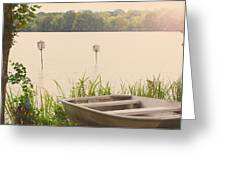 Wood Duck Boxes Greeting Card