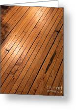 Wood Floor.jpg Greeting Card