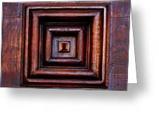 Wood Panel Greeting Card