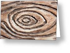 Wood Patterm Greeting Card