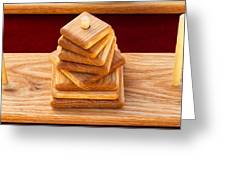 Wood Puzzle Greeting Card