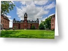 Woodburn Hall Early Afternoon Summer Day Greeting Card by Dan Friend