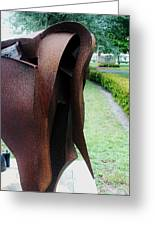 Wooden Horse5 Greeting Card