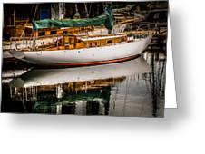 Wooden Sailboat Greeting Card
