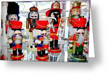 Wooden Soldiers Greeting Card