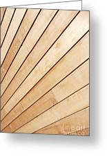 Wooden Texture Greeting Card