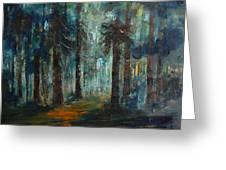 Woodland At Wilsonia 02 Greeting Card