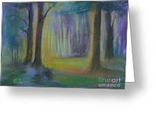 Woodland At Wilsonia Greeting Card