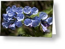 Woodland Blue Greeting Card