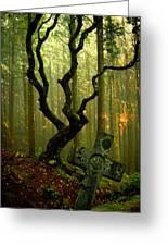 Woodland Burial Greeting Card