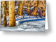 Woodland Graphic Greeting Card